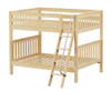 Maxtrix FAT Medium Bunk Bed Full Size Natural   Maxtrix Furniture   MX-FAT-NX