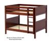 Maxtrix FIT Medium Bunk Bed Full Size Chestnut | 26287 | MX-FIT-CX