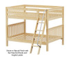 Maxtrix FIT Medium Bunk Bed Full Size Chestnut | Maxtrix Furniture | MX-FIT-CX