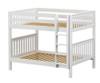 Maxtrix FIT Medium Bunk Bed Full Size White | Maxtrix Furniture | MX-FIT-WX