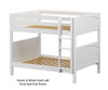 Maxtrix FIT Medium Bunk Bed Full Size White | 26289 | MX-FIT-WX