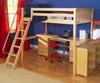 Maxtrix GIANT High Loft Bed Full Size Natural | Maxtrix Furniture | MX-GIANT-NX