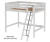 Maxtrix GIANT High Loft Bed Full Size White | 26303 | MX-GIANT-WX