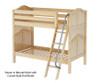 Maxtrix GOTIT Medium Bunk Bed Twin Size Natural | Maxtrix Furniture | MX-GOTIT-NX