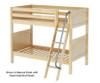 Maxtrix GOTIT Medium Bunk Bed Twin Size Natural | 26316 | MX-GOTIT-NX