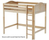 Maxtrix GRAND High Loft Bed Full Size Natural   26319   MX-GRAND-NX