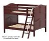 Maxtrix GULP Low Bunk Bed Full Size Chestnut | Maxtrix Furniture | MX-GULP-CX