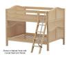 Maxtrix GULP Low Bunk Bed Full Size Natural | Maxtrix Furniture | MX-GULP-NX