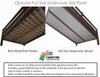 Maxtrix HIT Mid Loft Bed with Stairs Full Size Natural   Maxtrix Furniture   MX-HIT-NX
