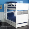 """Maxtrix Low Bunk Bed 61""""H   Maxtrix Furniture   MX-HOTSHOT"""