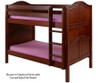 Maxtrix HOTSHOT Low Bunk Bed Twin Size Chestnut | Maxtrix Furniture | MX-HOTSHOT-CX