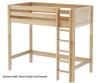 Maxtrix JIBJAB High Loft Bed Twin Size Natural   26376   MX-JIBJAB-NX