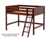 Maxtrix KONG Mid Loft Bed Full Size Chestnut | 26418 | MX-KONG-CX