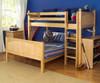 Maxtrix MIX Bunk Bed Twin over Full Size White | Maxtrix Furniture | MX-MIX-WX