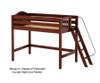 Maxtrix PACK Mid Loft Bed Twin Size Natural | 26493 | MX-PACK-NX