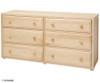 Maxtrix PERFECT Storage Low Loft Bed with Stairs Full Size Natural | Maxtrix Furniture | MX-PERFECT1-NX