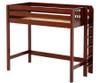 Maxtrix SLAM High Loft Bed Twin Size Chestnut | Maxtrix Furniture | MX-SLAM-CX