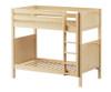 Maxtrix TALL High Bunk Bed Twin Size Natural | Maxtrix Furniture | MX-TALL-NX