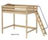 Maxtrix CHUNKY Ultra-High Loft Bed Full Size Chestnut | Maxtrix Furniture | MX-ULTRACHUNKY-CX