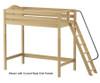 Maxtrix DUNK Ultra-High Loft Bed Twin Size Natural | 26616 | MX-ULTRADUNK-NX