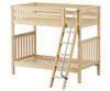 Maxtrix VENTI High Bunk Bed Twin Size Natural | Maxtrix Furniture | MX-VENTI-NX