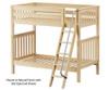 Maxtrix VENTI High Bunk Bed Twin Size White | Maxtrix Furniture | MX-VENTI-WX