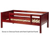 Maxtrix YEAH Day Bed Twin Size Chestnut | 26667 | MX-YEAH-C