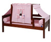 Maxtrix YO Day Bed with Top Tent Twin Size Chestnut 2 | Maxtrix Furniture | MX-YO23-C