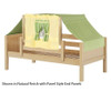 Maxtrix YO Day Bed with Top Tent Twin Size Natural 3 | 26680 | MX-YO24-N