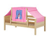 Maxtrix YO Day Bed with Top Tent Twin Size Natural 5 | Maxtrix Furniture | MX-YO28-N