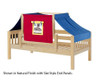 Maxtrix YO Day Bed with Top Tent Twin Size Natural 6 | 26689 | MX-YO29-N