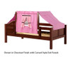 Maxtrix YO Day Bed with Top Tent Twin Size Chestnut 9 | Maxtrix Furniture | MX-YO73-C