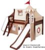 Maxtrix Low Loft Bed w/ Top Tent & Slide 1 | 26732 | MXWOW2