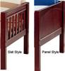 Maxtrix Low Loft Bed w/ Top Tent & Slide 1 | Matrix Furniture | MXWOW2