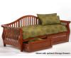 Nightfall Day Bed Cherry | Night and Day Furniture | ND-NFDB-CH