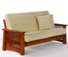 Solstice Futon Sofa Cherry | Night and Day Furniture | ND-Solstice-CH