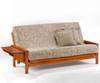 Winston Futon Sofa Honey Oak | Night and Day Furniture | ND-Winston-HO