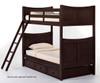 School House Taylor Bunk Bed Chocolate | 26837 | NE-5030BUNK