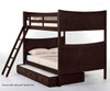 School House Taylor Full over Full Bunk Bed Chocolate | 26838 | NE-5035BUNK