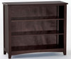 School House Short Bookcase Chocolate | NE Kids Furniture | NE-5565