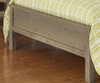 Everglades Bailey Upholstered Bed Full Size Driftwood   26933   NE10015