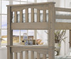 Everglades Harper Twin over Twin Size Bunk Bed Driftwood | 26940 | NE10051
