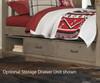 Everglades Harper Full over Full Size Bunk Bed Driftwood | 26942 | NE10055X