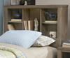 Everglades Bookcase Bed Twin Size Driftwood | NE Kids Furniture | NE10060