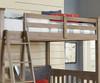 Everglades Loft Bed Full Size Driftwood | NE Kids Furniture | NE10080