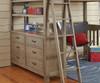 Everglades Loft Bed Full Size Driftwood | 26949 | NE10080