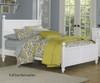 Lakehouse Kennedy Twin Bed White | NE Kids | NE1020