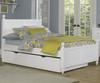 Lakehouse Kennedy Full Bed with Trundle White | NE Kids | NE1025-1570