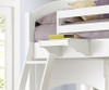 Lakehouse Adrian Bunk Bed Twin Over Full White | NE Kids | NE1035