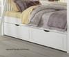 Lakehouse Adrian Bunk Bed Twin Over Full White | 26963 | NE1035